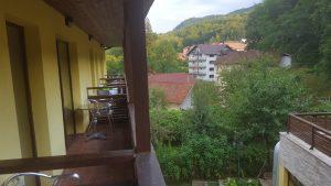Hotel Tisa Baile Olanesti, imagine din balcon